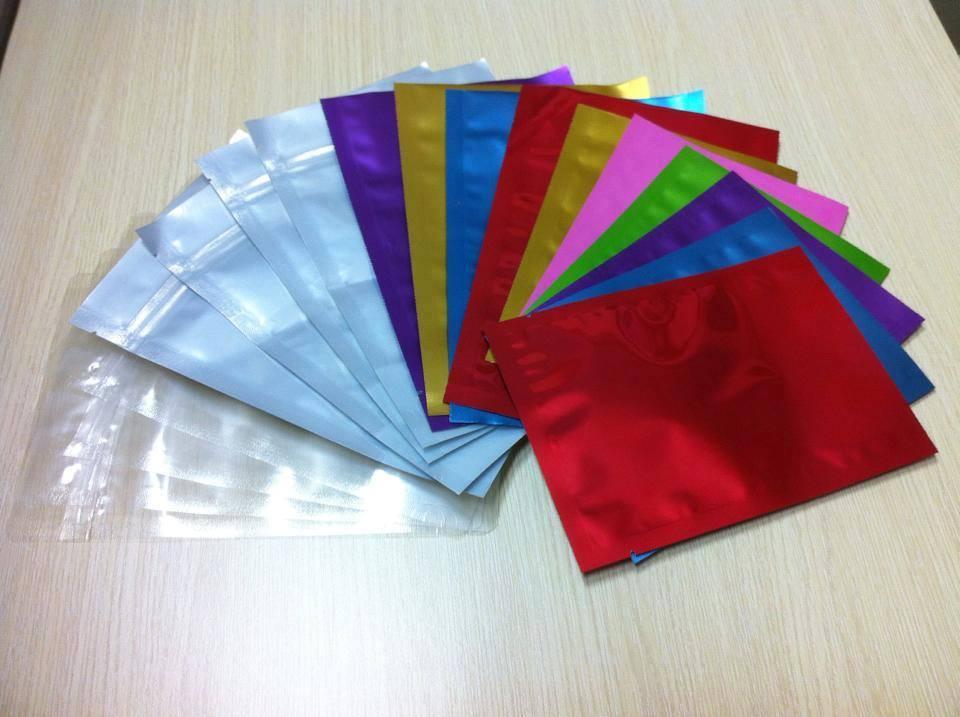 Túi Zipper MPET Các Màu